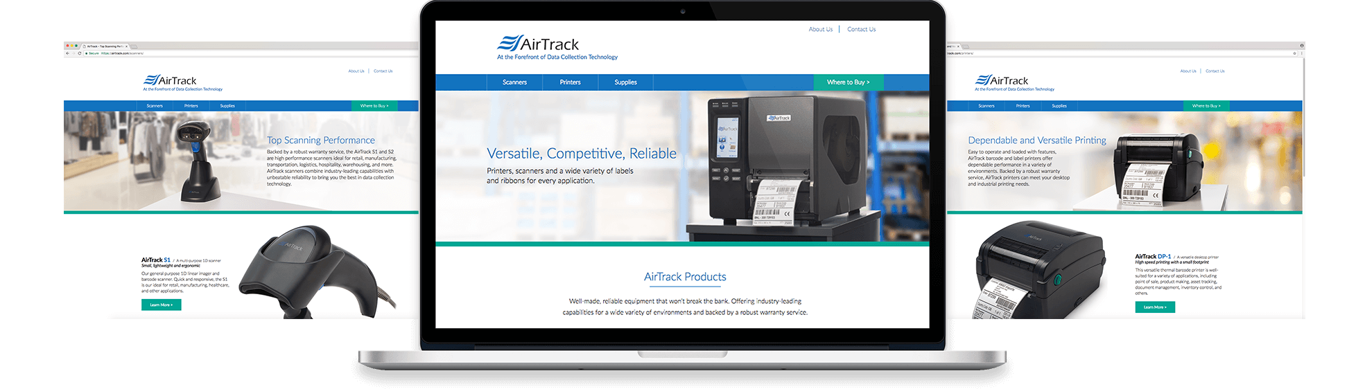 Airtrack Marketing Materials