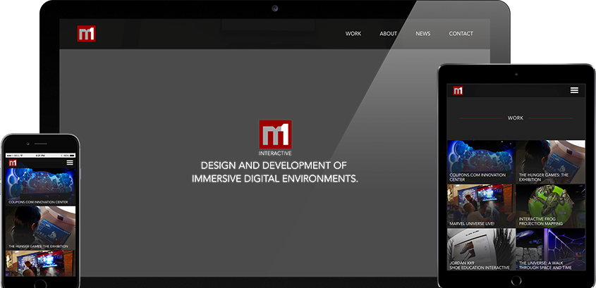 M1 Interactive Website Redesign