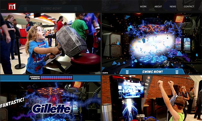 Website Design - M1 Interactive