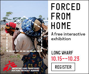Static - HTML5 Ad Doctors Without Borders Forced From Home Campaign