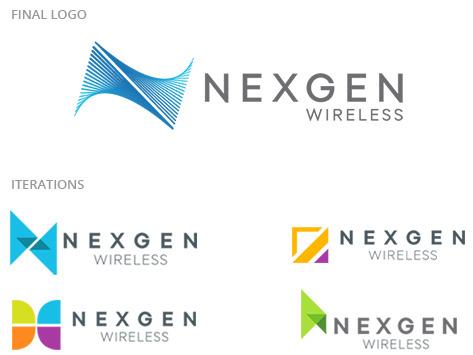Nexgen Wireless Branding & Identity   Website Design