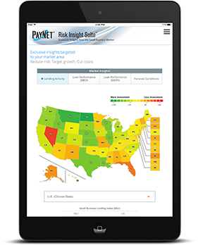 PayNet RIS Interactive Interface on tablet