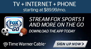 Animated ads created to promote a Fox Sports and Time Warner Cable partnership.