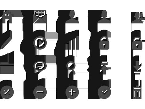 Customer Service App - Custom Icons