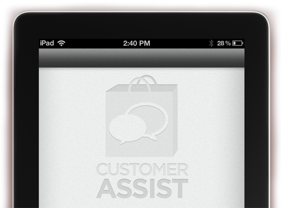 Customer Service App - User Interface