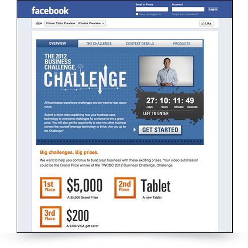 Facebook Video Challenge Screenshot