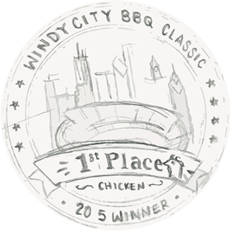 Windy City BBQ Award Logo Concept