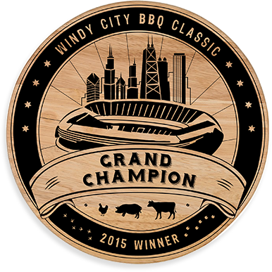 Windy City BBQ Award Branding